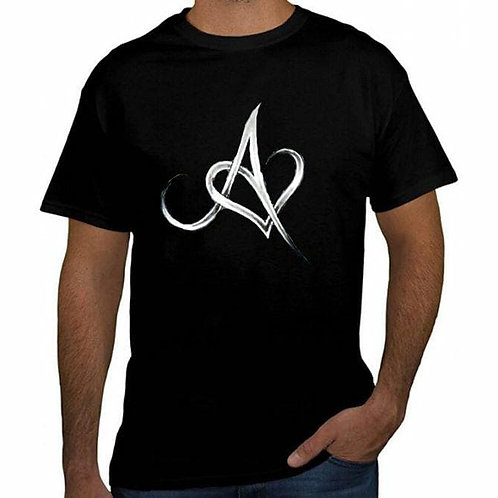 Anchored In Love Black T-Shirt