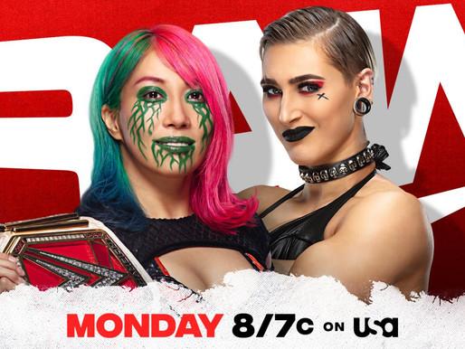 Monday Night RAW 3/29/2021