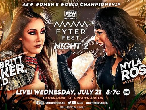 Wednesday Night Dynamite 7/21/2021