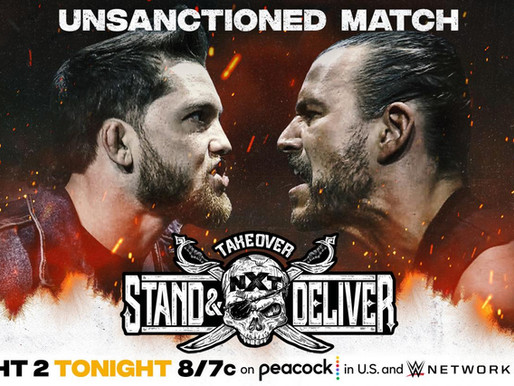 NXT Takeover: Stand & Deliver Part Two 4/8/2021