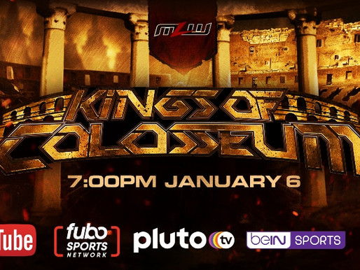 MLW Kings Of Colosseum 1/6/2021
