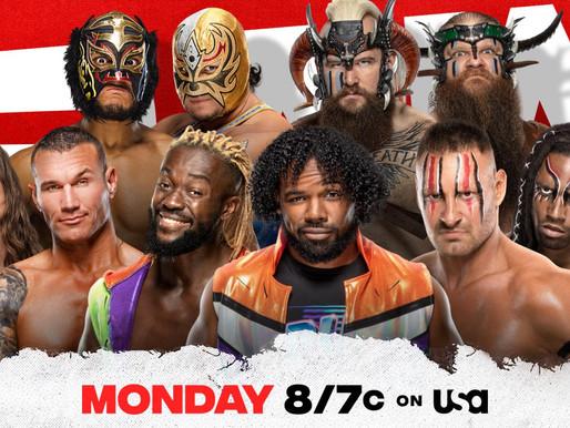 Monday Night RAW 6/7/2021