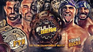 FTR VS The Young Bucks For The AEW Tag Team Championships Full Gear 2020