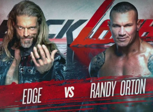 Edge VS Randy Orton Backlash 2020