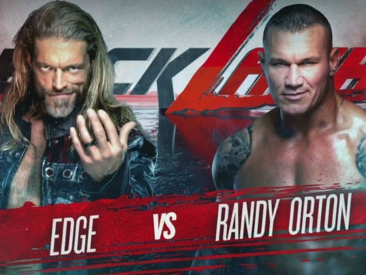 Edge VS Randy Orton Backlash 2020