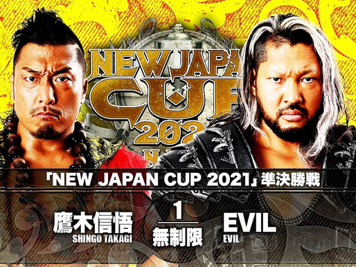 NEW JAPAN CUP SEMIFINALS 3/20/2021