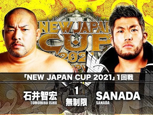 NEW JAPAN CUP NIGHT FIVE 3/8/2021