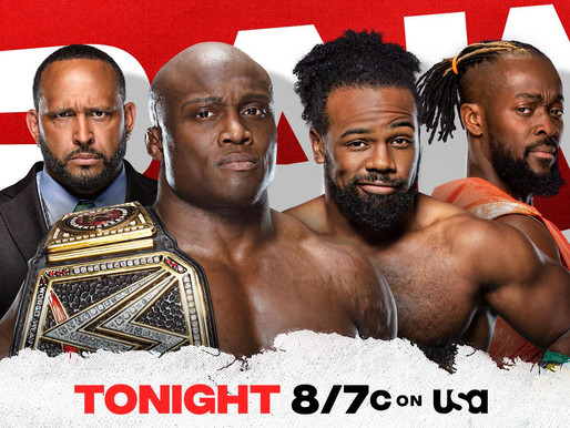 Monday Night Raw 7/12/2021