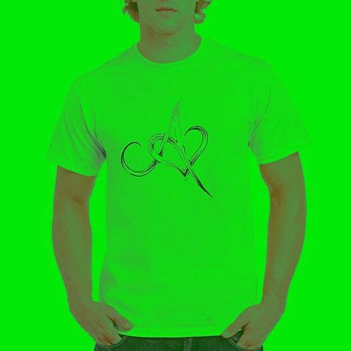Anchored In Love Green T-Shirt
