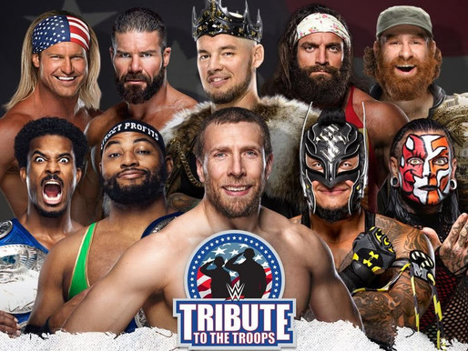 WWE Tribute To The Troops 2020