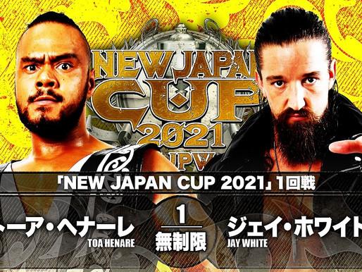 NEW JAPAN CUP NIGHT SIX 3/9/2021