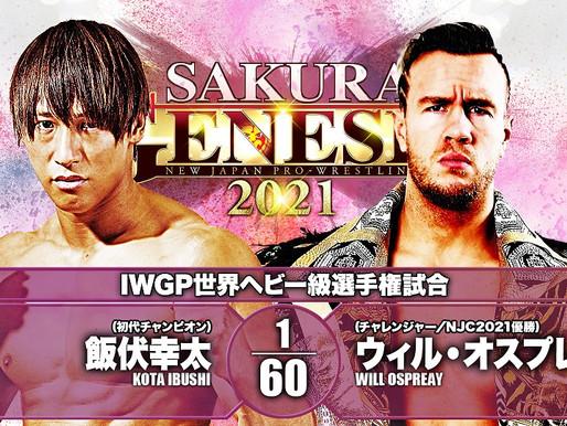 Sakura Genesis 2021 4/4/2021