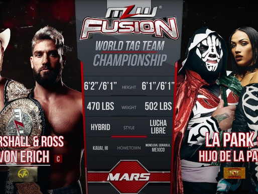 MLW Fusion 1/13/2021