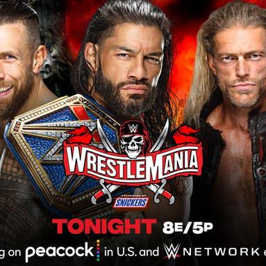 Wrestlemania 37 Night Two 4/11/2021