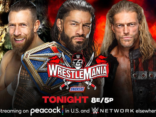 Wrestlemania 37 Night Two 4/11/2021