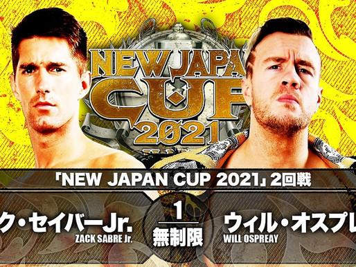 NEW JAPAN CUP NIGHT NINE 3/13/2021