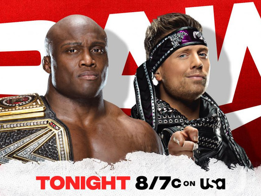Monday Night Raw 3/8/2021