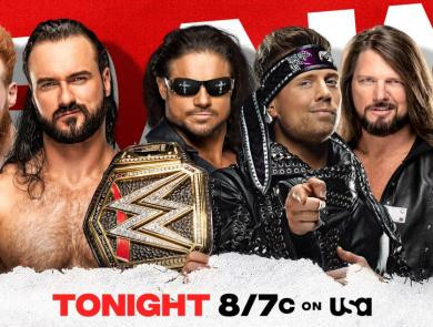 Monday Night Raw 12/7/2020