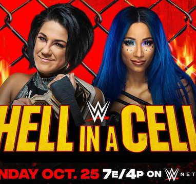 Sasha Banks VS Bayley Hell In A Cell 2020 For The SD Women's Championship
