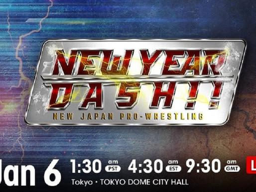 NJPW New Year Dash 1/6/2021