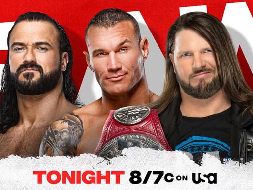 Monday Night RAW 6/28/2021