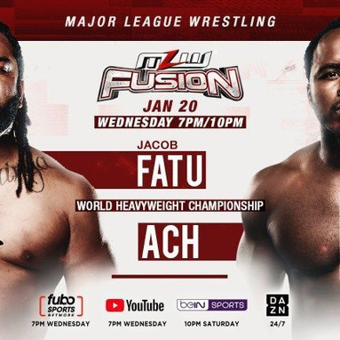 MLW Fusion 1/20/2021
