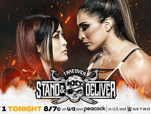 NXT Takeover: Stand & Deliver Night One 4/7/2021