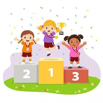 vector-illustration-three-girls-with-med