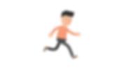 running - attending - person -