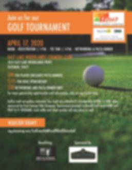 FAM.FL.1219 2020 Golf Tournament Flyer (