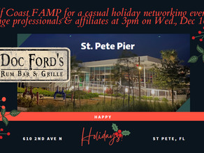 Mortgage Professionals & Affiliates Network Event at Doc Ford's at St. Pete Pier