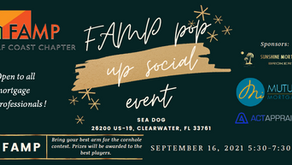 GC FAMP Social at Sea Dog on Sept 16th