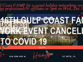Cancelled: Mortgage Professionals & Affiliates Network Event at Doc Ford's Wd. , Dec. 16th