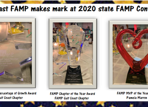 Gulf Coast FAMP receives multiple awards at state convention!