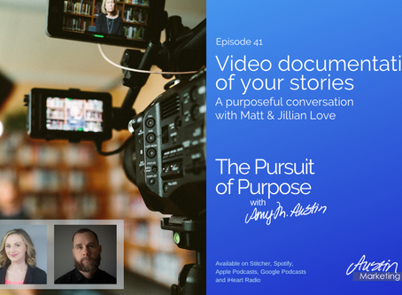 LoveCreative Featured on The Pursuit of Purpose with Amy Austin