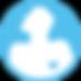 Blue Heart Hero logo