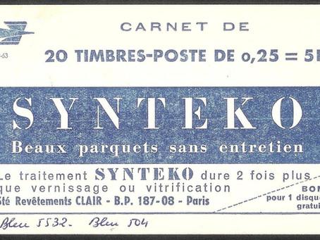 Référence  de couleur du nuancier de l'atelier des timbres postes
