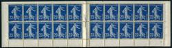 Carnet de 20 timbres sans pub sur les marges -140-C1 - ACCP 31