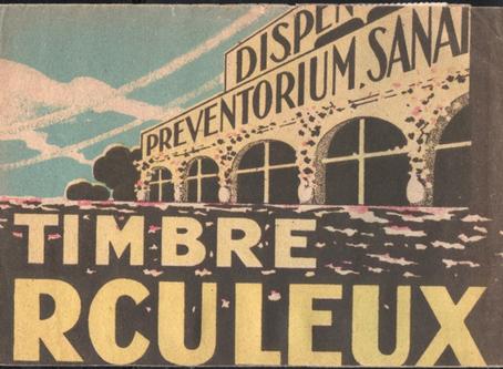 Découverte : Un carnet antituberculeux artisanal de 1929