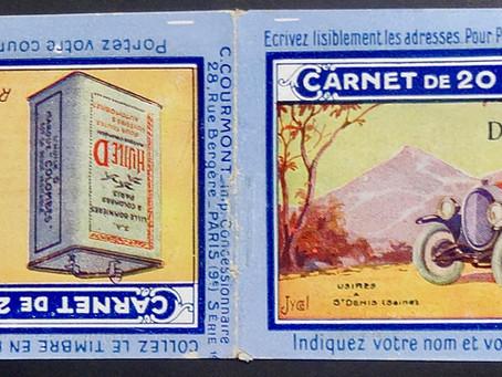 1936 :  Nouvelle concession de la publicité sur couvertures