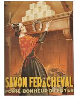 FER A CHEVAL : LE SAVON PORTE BONHEUR