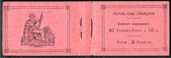 Carnet_de_5_feuillets_de_6_timbres_émis_en_1919_-_138-C7_-_ACCP_15_