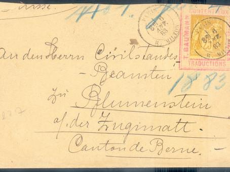 Précurseurs Porte-timbres