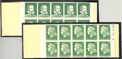 ACCP ES 130 - Palissy vert- Essai carnet de  20 timbres pour Cheffer