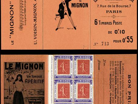 Concordance carnet privé porte-timbres