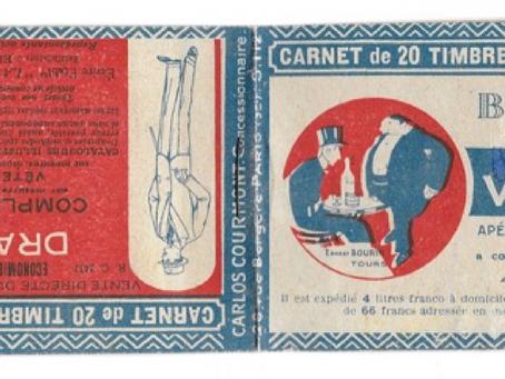 Histoire de bandelettes publicitaires
