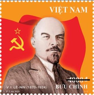 La poste vietnamienne honore Lénine
