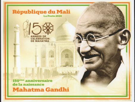 République du Mali : Hommage au Mahatma