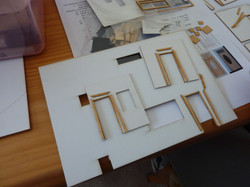 28. placement of architraves around the doors.JPG