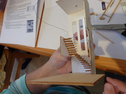 43. all stairs in place - to the landing on the first floor.JPG